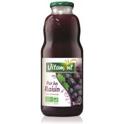 Jus de raisin rouge bio 1 l Vitamont