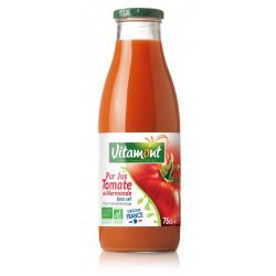 Jus de tomate bio 75 cl Vitamont