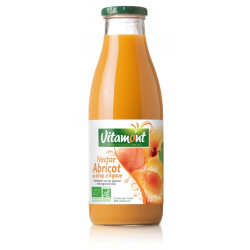 Nectar d'Abricot des Pyrénées Orientales bio 75 cl Vitamont