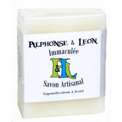 Savon artisanal 100g Immaculée, Alphonse et Léon