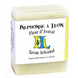 Savon artisanal 100 g Fleur d'avocat, Alphonse et Léon