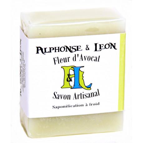 Savon artisanal 100g Fleur d'avocat, Alphonse et Léon