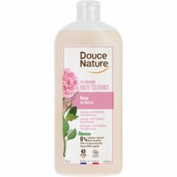 Gel douche haute tolérance à la rose1 litre Douce Nature