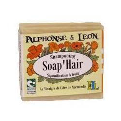 Shampoing solide 45 g Soap'Hair Alphonse et Leon