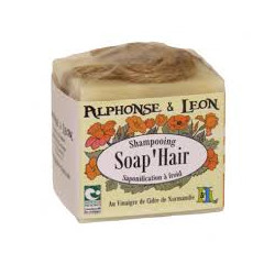 Shampoing solide 150 g Soap'Hair Alphonse et Leon
