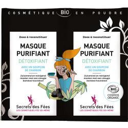 Masque purifiant détoxifiant 9 g Secrets des fées