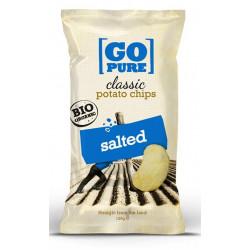 Chips salées bio 125 g Go Pure