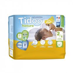 CouchesTidoo Nature T2/S 3-6 kg paquet de 31