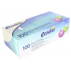 Mouchoirs écologiques en boite de 100 Ecodoo