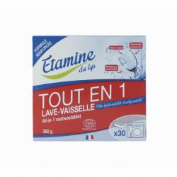 Tablettes lave-vaisselle tout-en-1 Etamine du Lys