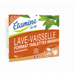 Tablettes lave-vaisselle x 50 Etamine du Lys