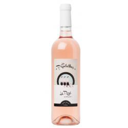 Vin rosé bio Les Pipelettes 2018 75 cl