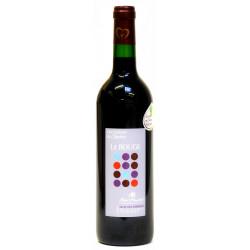 Vin de pays Charentais Rouge 75cl bio