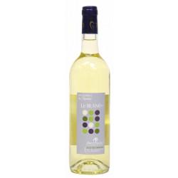 Vin de pays Charentais Blanc sec 75 cl bio