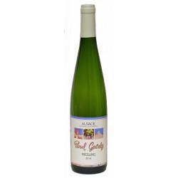 Riesling bio 2018 Vin blanc d'Alsace bio 75 cl Paul Gaschy