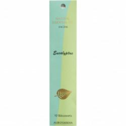 Encens aux huiles essentielles eucalyptus X10 bâtonnets