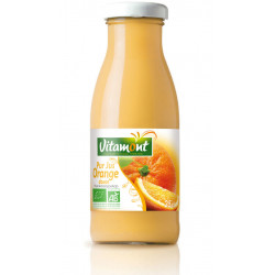 Mini pur jus d'orange bio 25 cl Vitamont