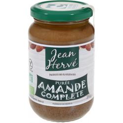 Purée d'Amande complète bio 350 g Jean Hervé