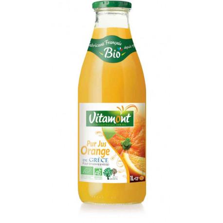 Jus d'orange de Grèce bio 1 l Vitamont