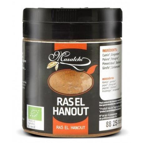 Ras-El-Hanout bio 120 g Masalchi