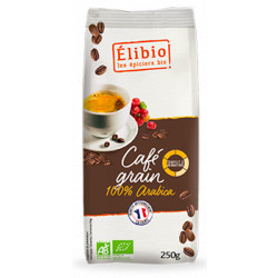 Café arabica grain bion 250 g Elibio