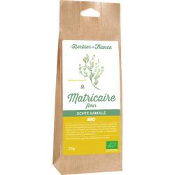 Camomille matricaire bio fleur 25 g L'Herbier de France