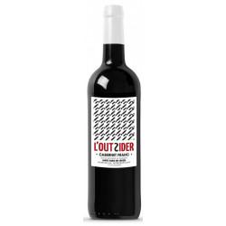Vin rouge bio L'Outsider 2017 75 cl
