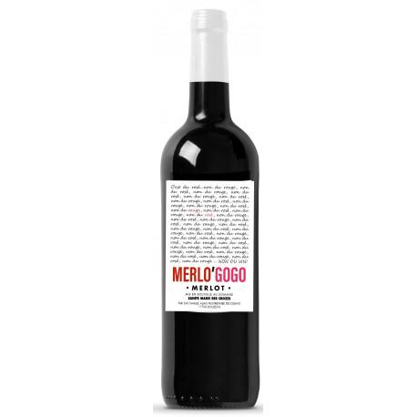 Vin bio Merlo'gogo 75 cl 2020