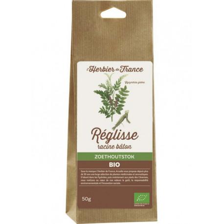 Bâton de réglisse bio 50 g L'Herbier de France