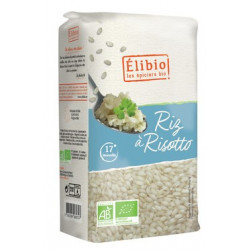 Riz bio pour risotto 500 g Elibio