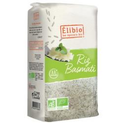 Riz basmati blanc bio 1 kg Elibio