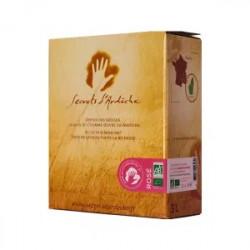 Vin rosé Secret d'Ardèche bio 3 l