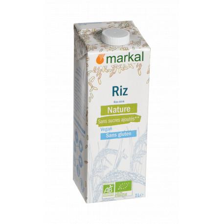 Boisson riz nature bio 1 l Markal