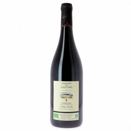 Chino rouge bio Domaine des Galuches 75 cl