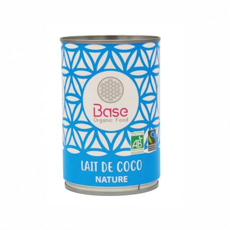 Lait de coco bio 400 ml Base Organic