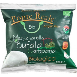 Mozzarella di Bufala Campana bio 125 g Ponte Reale