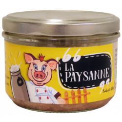 Terrine La Paysanne bio 180 g Ferme des Crettes