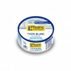 Thon blanc au naturel 160g, à teneur réduite en sel