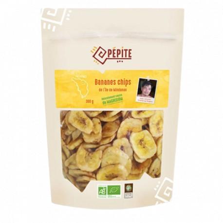 Bananes chips bio 300 g