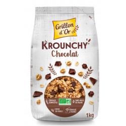 Krounchy chocolat 1 kg bio Grillon d'Or
