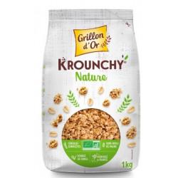 Krounchy Nature bio 1 kg Grillon d'Or