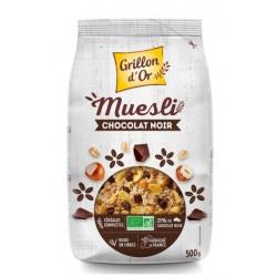 Muesli chocolat noir bio 500 g Grillon d'or