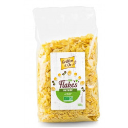 Corn flakes nature bio 500 g Grillon d'Or