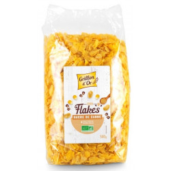 Corn flakes au sucre bio 500 g Grillon d'Or
