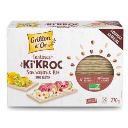 Tartines Ki'Kroc sarrasin et riz bio 270 g