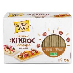 Tartines Ki'Kroc chataigne bio 150 g