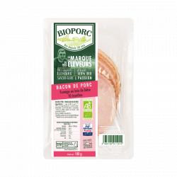 Bacon bio 10 tranches 100 g