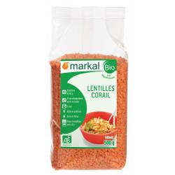 Lentilles corail bio 500 g Markal