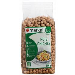 Pois chiches secs bio Markal 500 g