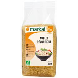 Millet décortiqué bio 500g Markal